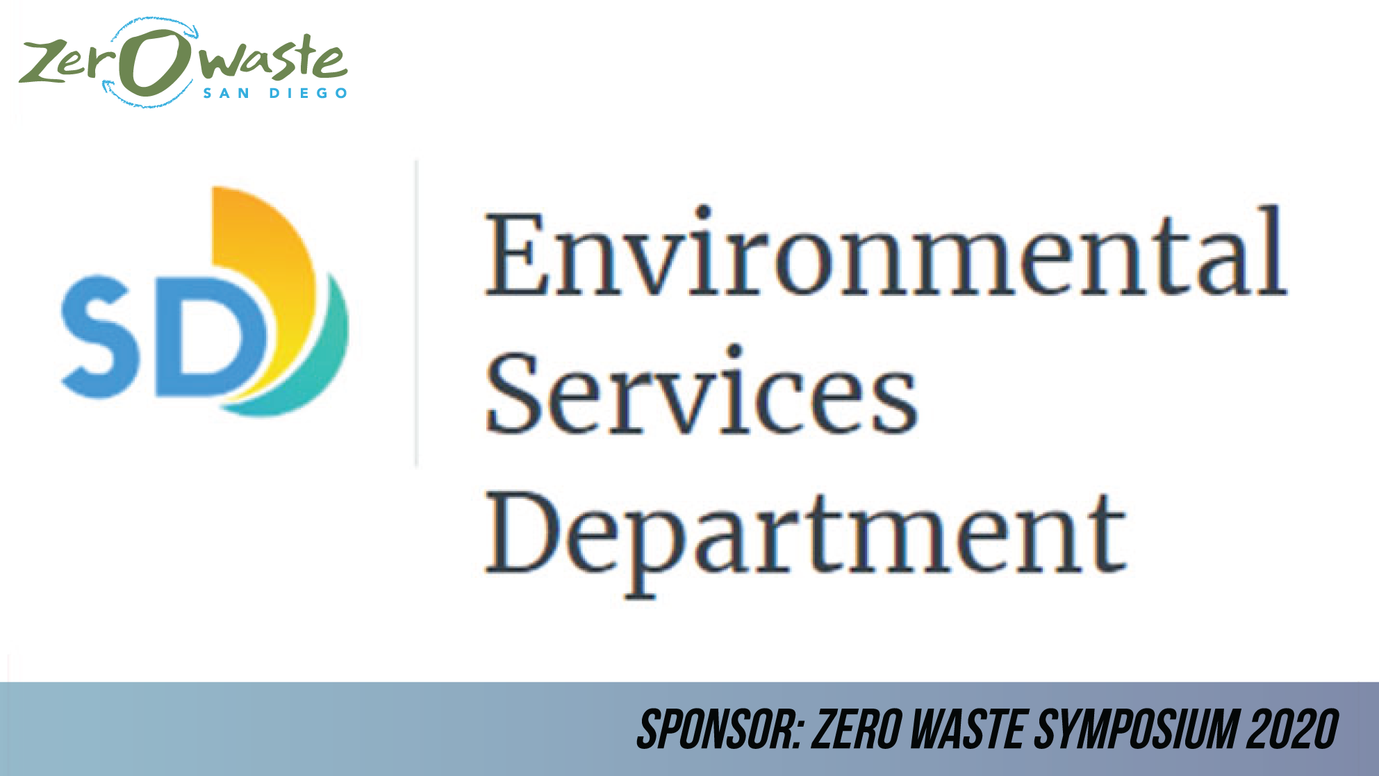 City of San Diego Environmental Services Department