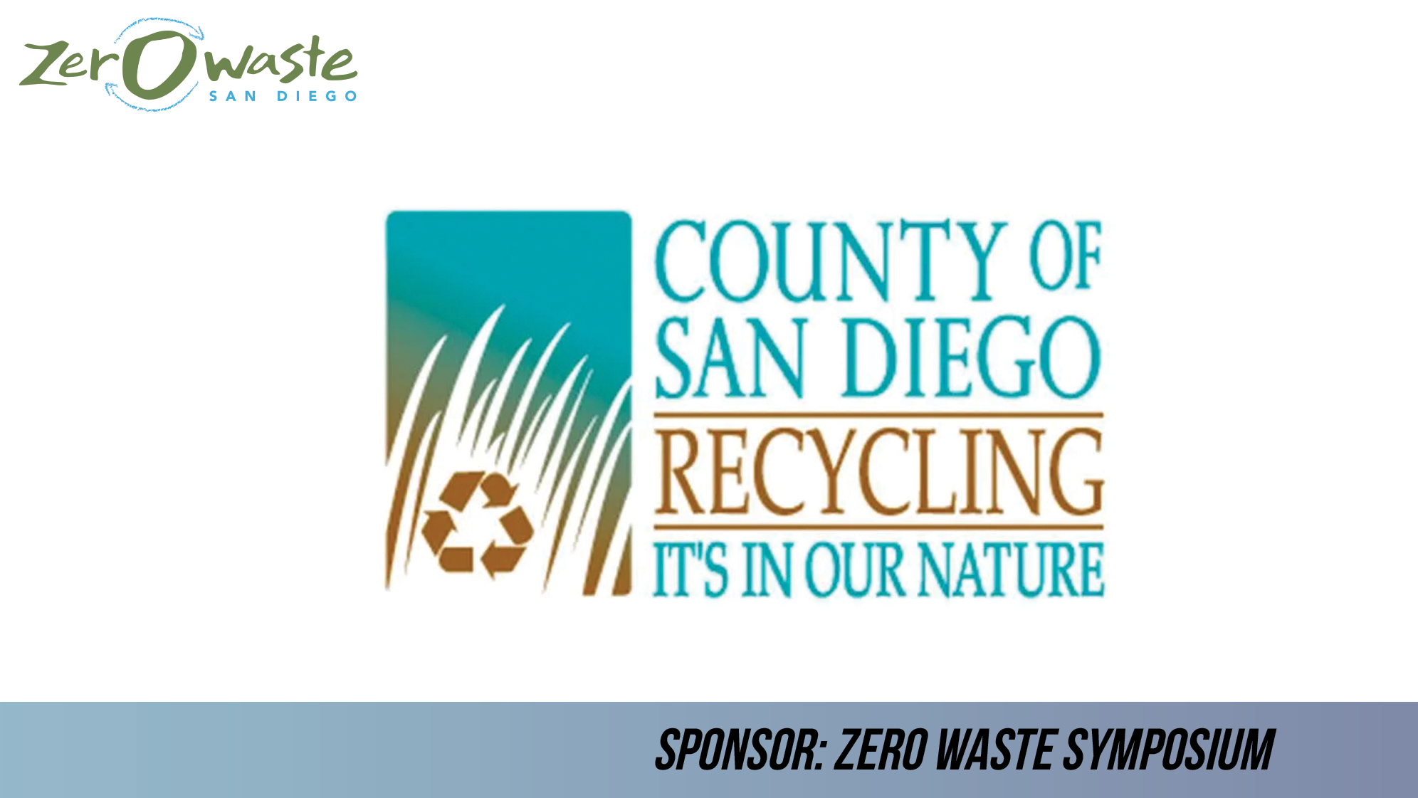 County of San Diego Recycling
